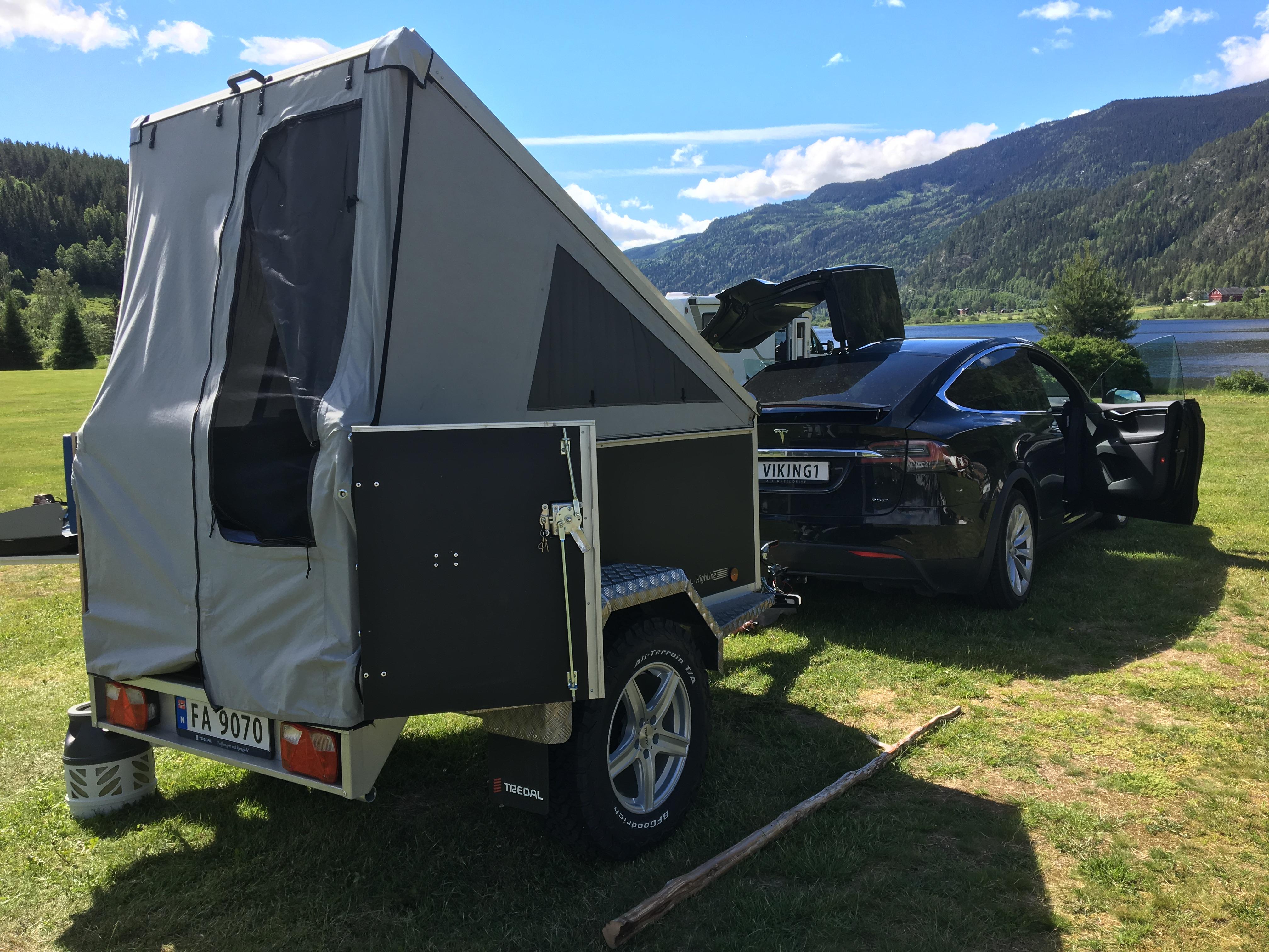 Camping Offroad T-13-UC OR Camp Svart m/rails og telt